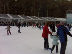 The Pond at Bryant Park.