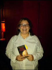 """NYT and USA Today Bestseller, Caridad Pineiro read from her latest release, """"Sins of the Flesh."""""""