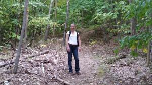 Hope climbing Mt. Beacon_9-21-14