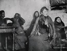 Immigrants photographed by Jacob Riis