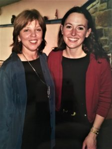 #TBT Authors Nora Roberts and Hope C. Tarr in 2001